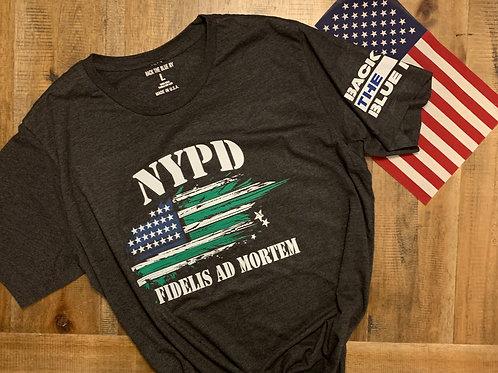 NYPD Flag Tee