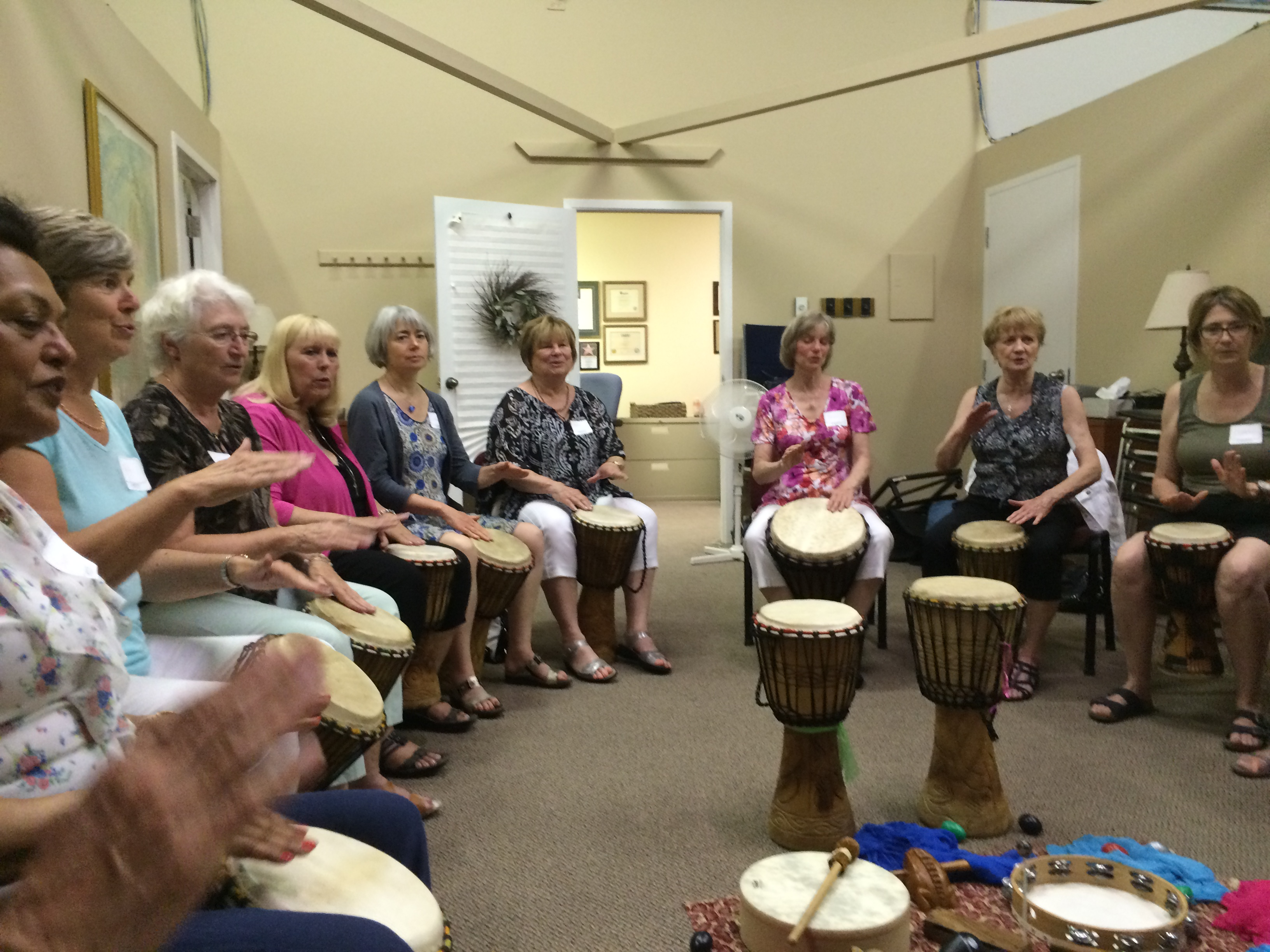 Volunteer Drum Circle