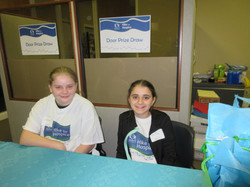 Tisha & Amelia Door Prize Table