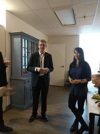 Dave Tate (Rotarian) & Suzie (staff)