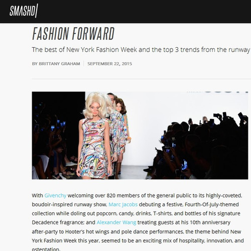 NYFW: Fashion Forward