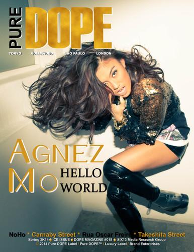 Agnez Mo - Cover (Pure DOPE Magazine)