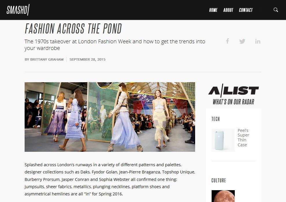 LFW: Fashion Across the Pond