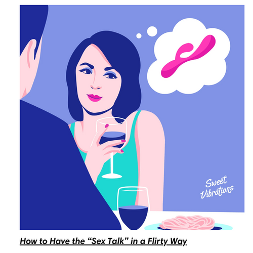 """How to Have the """"Sex Talk"""" in a Flirty Way"""