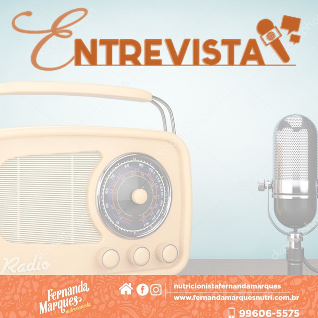 Entrevista na Rádio Relógio