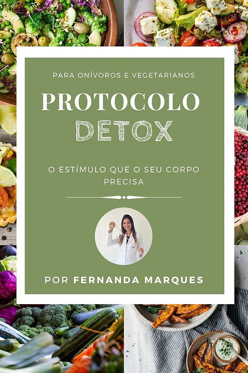 Protocolo Detox - com mais de 20 receitas e passo a passo!