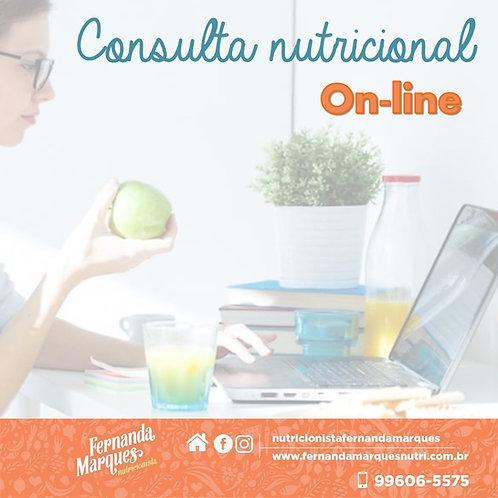 Consulta nutricional On-line