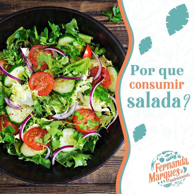 Porque consumir salada? 🥙