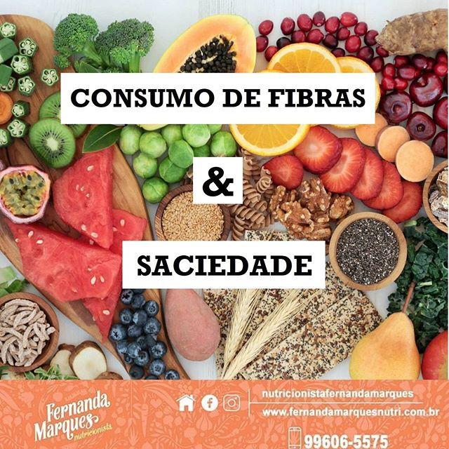 Consumo de fibras e saciedade