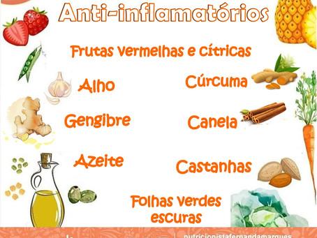 Os alimentos Anti-inflamatórios