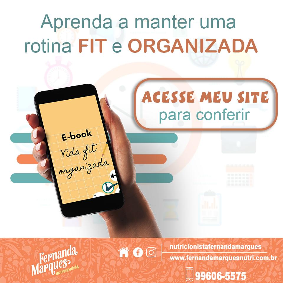 e-book Organização Fit