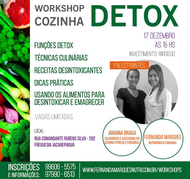 Workshop Cozinha Detox