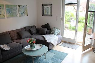 Appartement Ferienwohnung Dettelbach Wohnzimmer