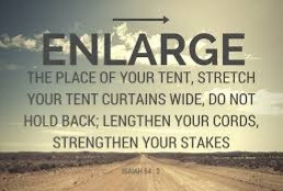Enlarge the place of your tents!