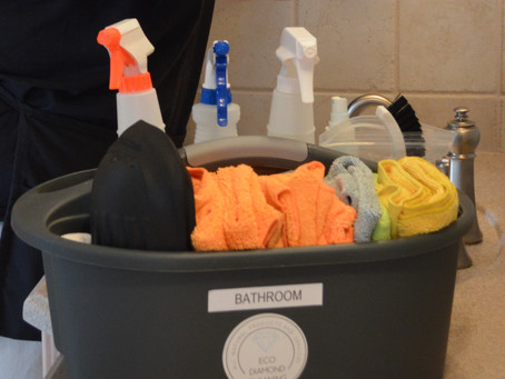 Color Coded Cleaning Cloths!