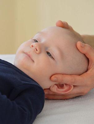 Als sanfte Therapieform besonders gut geeignet zur Behandlung von Babys