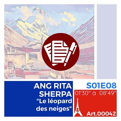 """WS-S01E08A00042 ANG RITA SHERPA, """"Le léopard des neiges"""""""
