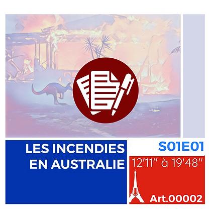 Incendies en Australie S01E01A00002