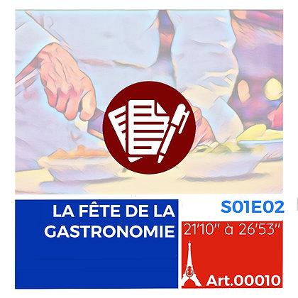LA FÊTE DE LA GASTRONOMIE S01E02A00010