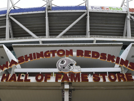 Washington's NFL team drops 'Redskins' name after 87 years