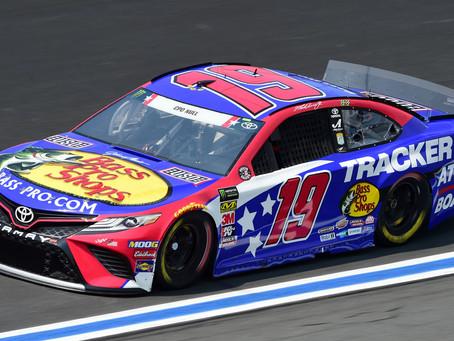 Martin Truex, Jr.'s Toyota to honor Chapman for weekend race