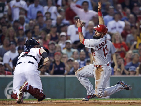 What would have been: Red Sox-Cards and a college world series title