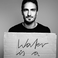 WATER IS A HUMAN RIGHT