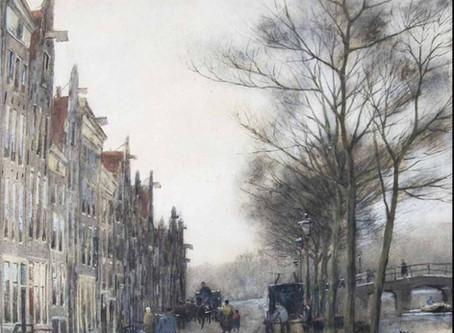 Een idyllisch Amsterdams grachtengezicht?