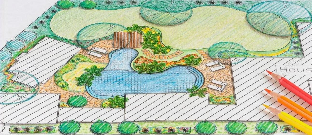 51665039-landscape-architect-design-back