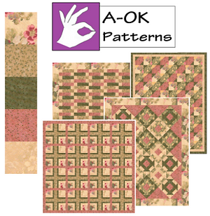 Exclusive Five Yard Quilt Patterns using the AOK method