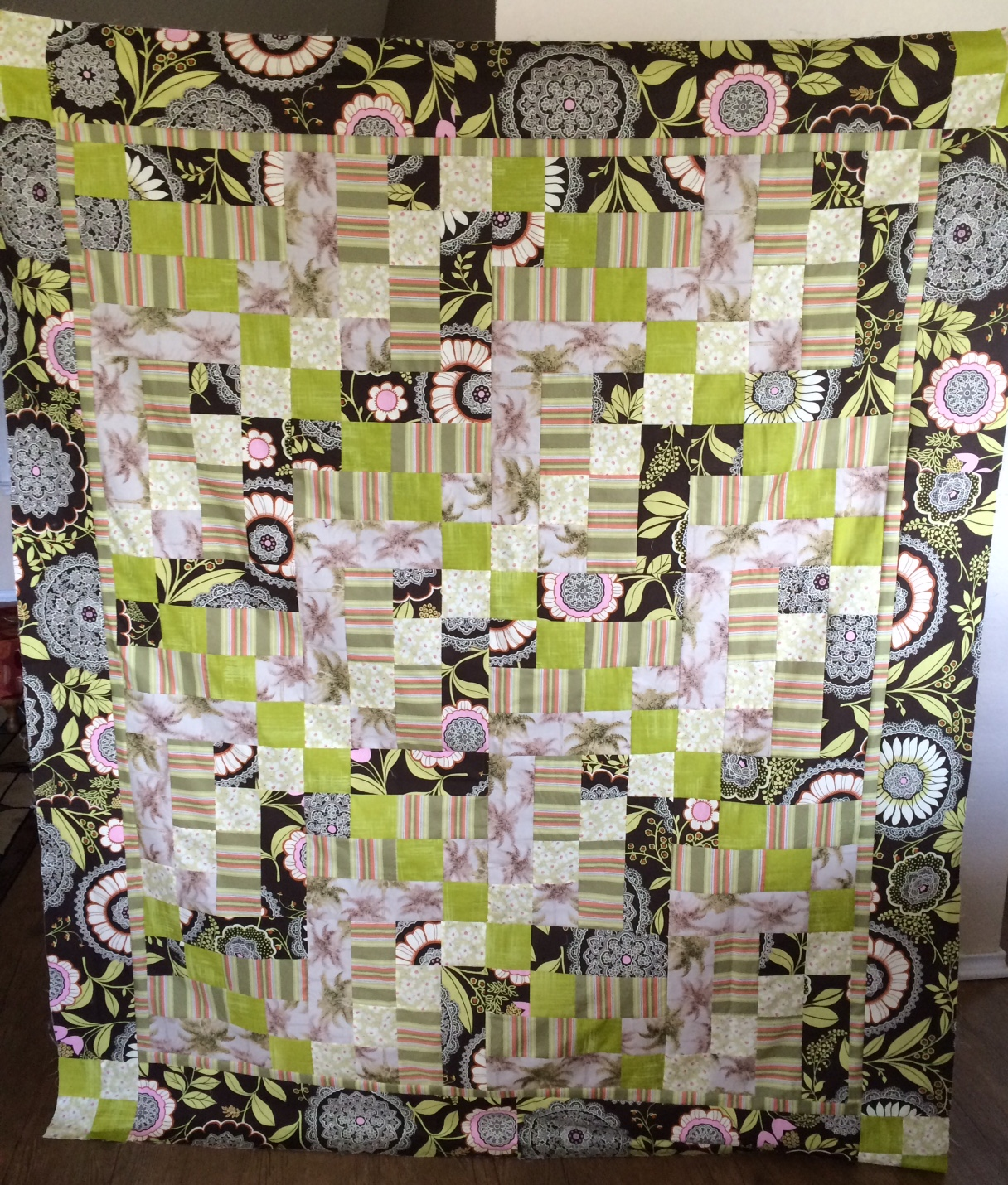 Cindy's Scrapped Quilt