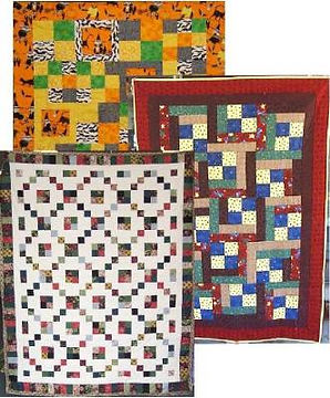 Original quilt patterns for fat quarter bundles