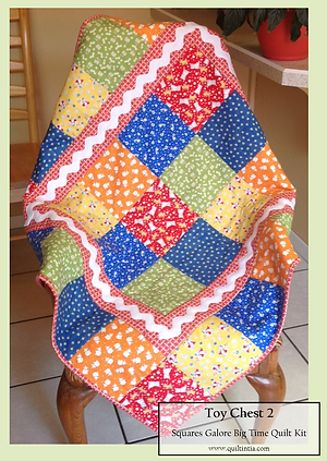Origina Baby Quilt Kits by Quiltin' Tia Quiltworks