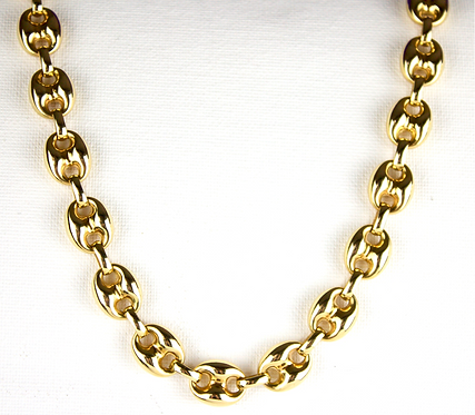 Italian 14ct Gold Gucci Style Necklace