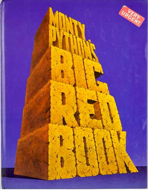 Signed Monty Python's Big Red Book