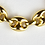 Thumbnail: Italian 14ct Gold Gucci Style Necklace
