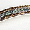 Thumbnail: 18ct White Gold Bracelet With 14 Grey / Blue Sapphires