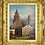 Thumbnail: Henry Schafer Oil on Canvas of St Martins Cathedral, Germany