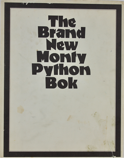 The Brand New Monty Python Book (Signed)