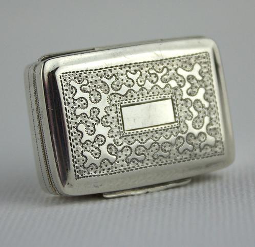 Silver Vinaigrette by Thomas Newbold