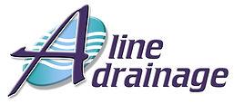 A-Line Drainage Logo