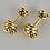 Thumbnail: A Pair of Italian 14ct Gold Love Knot Cufflinks