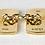 Thumbnail: 1987 9ct Gold Cufflinks