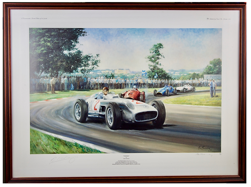 Fangio by Alan Fearnley