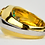 Thumbnail: 18ct Gold Yellow and White Gold Ring