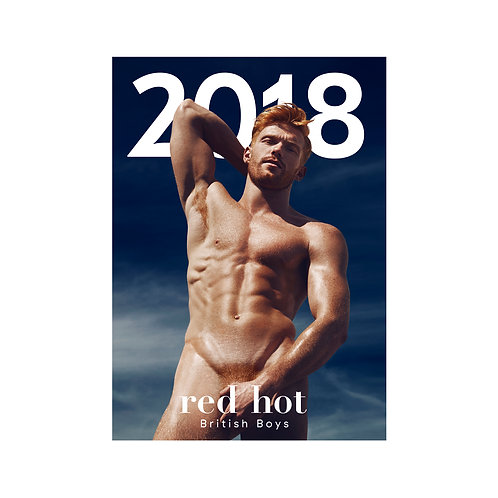 Red Hot British Boys - 2018 Calendar