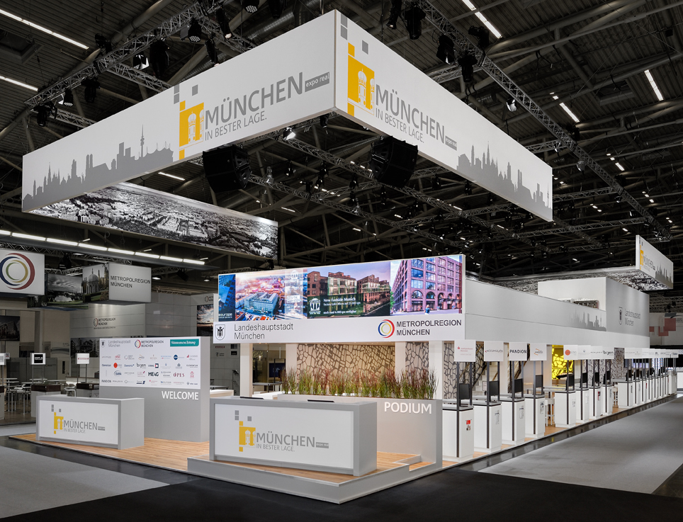 EXPO REAL - Internationale Fachmesse für Immobilien und Investitionen