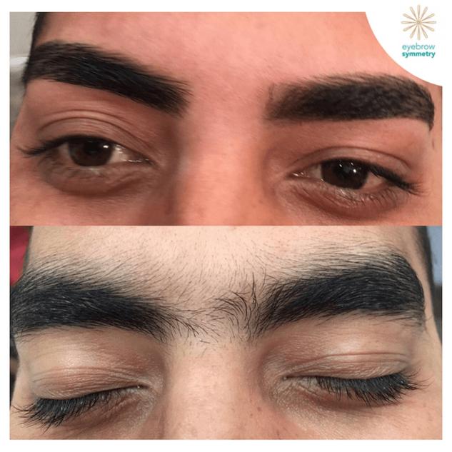 Mens eyebrow trim & clean up