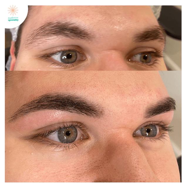 Mens eyebrow styling