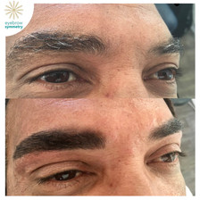 Eyebrow tint and henna for men